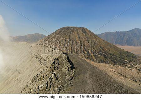 Volcano Bromo and Volcano Batox, Java island, Indonesia