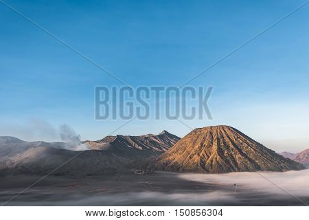 Volcano Bromo and Batox on the morning