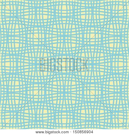 Steel Grating  On Colorful Background