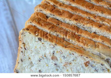 Fresh Sliced Bread Slices