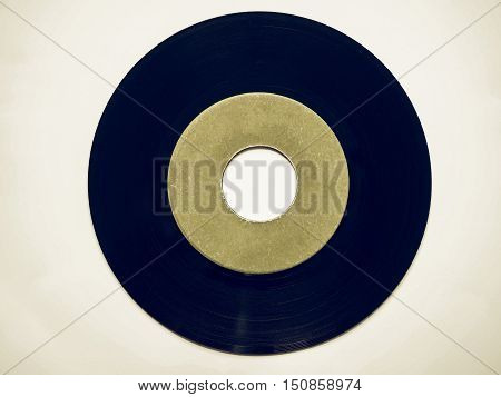 Vintage Looking Vinyl Record 45 Rpm