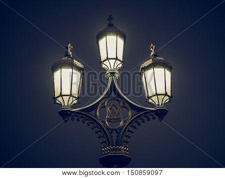 Vintage Looking Street Lamp