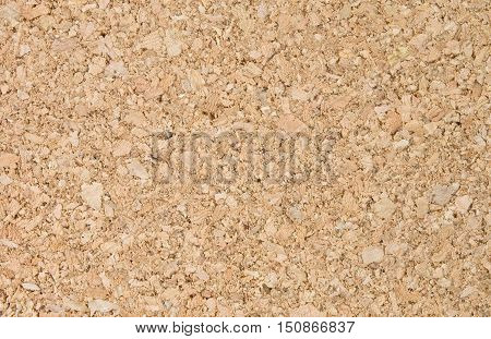 Background Pattern Horizontal Cork Board Texture with Copy Space for Text Decorated.