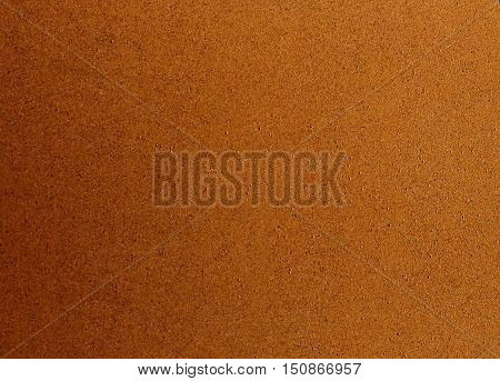 Background Pattern Close Up of Brown Cork Board Texture with Copy Space for Text Decorated.