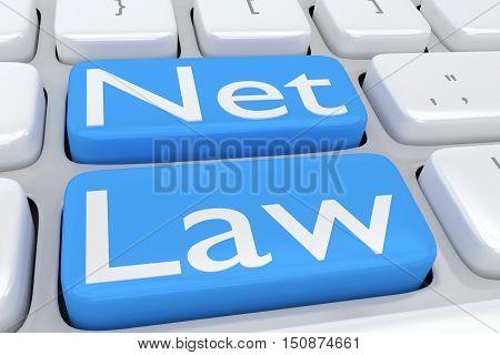 Net Law Concept