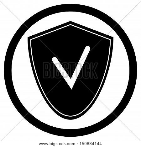 Antivirus icon shield. Shield logo and security icon protection icons Vector illustration