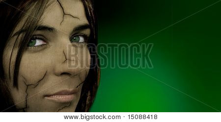 Frightened Woman