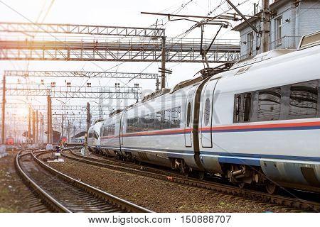 High-speed Hybrid-electric Train Sapsan