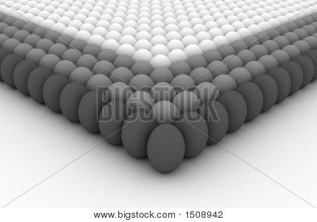 Formação de exército de ovos