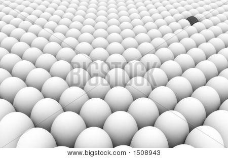 Um ovo cinzento