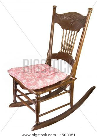 Armless Rocking Chair