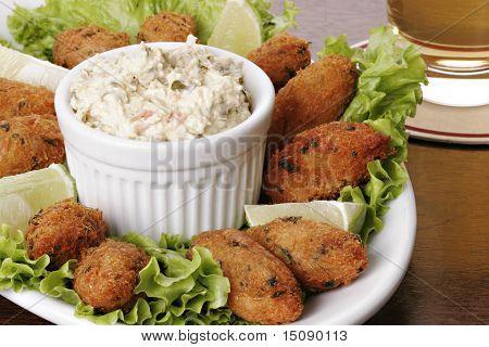 Portuguese Cod Fish Croquettes