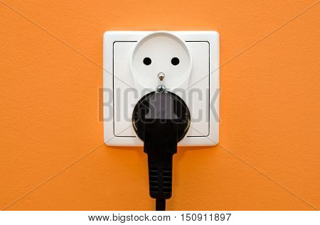 Electrical Socket In Wall