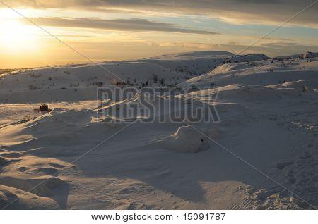 Hibiny massiv Skiresort