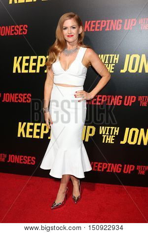 LOS ANGELES - OCT 8:  Isla Fisher at the