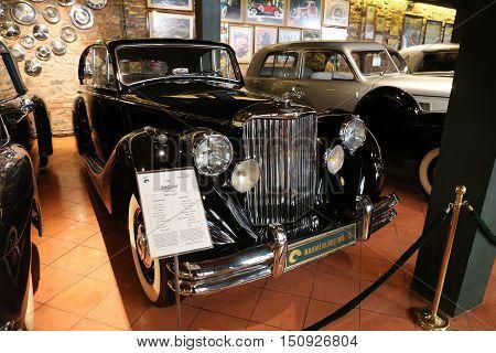 1950 Jaguar Mark V Saloon