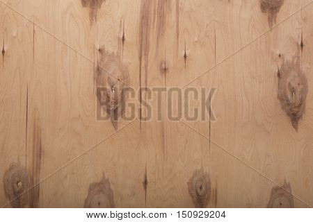 Beige wooden natural texture with knots. Horizontal orientation