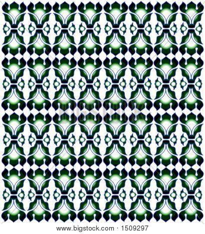 Green Pattern Design (Vetor)