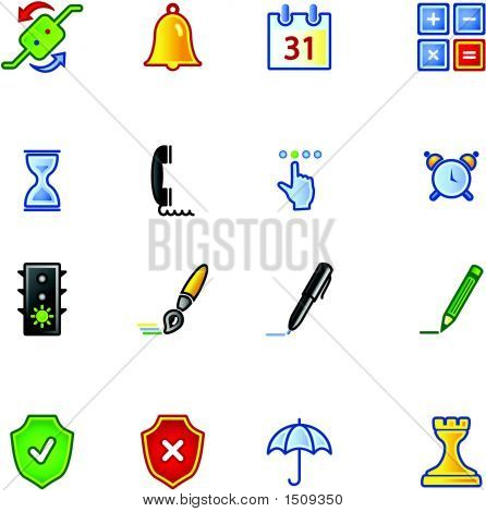 Colorful Software Icons
