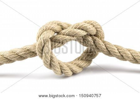 Heart Shape Knot Of Rope