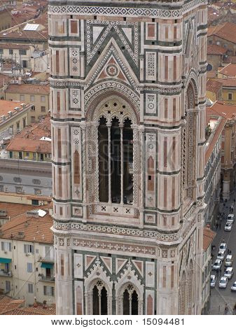 Florence - aerial view