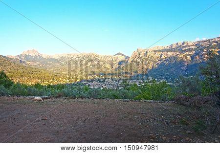 Soller Valley Mountain Landscape