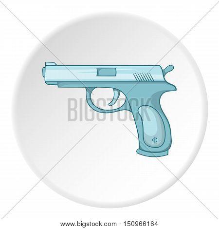 Gun icon. Cartoon illustration of gun vector icon for web