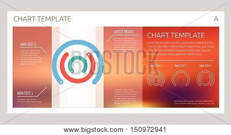Infographic Vector Design Interface Template Design. Transparent User Interface Minimalistic Widget