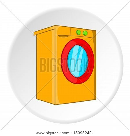 Washer icon. Cartoon illustration of washer vector icon for web