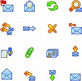 Colorful Mail Icons
