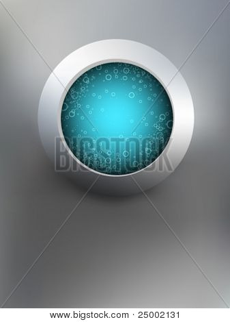 abstract vector window illustration