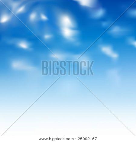 cloudy vector sky