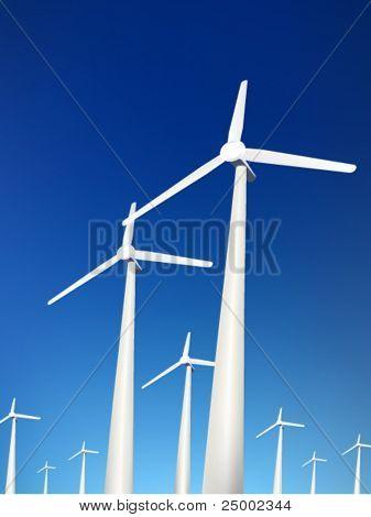 Vektor-Windkraftanlagen