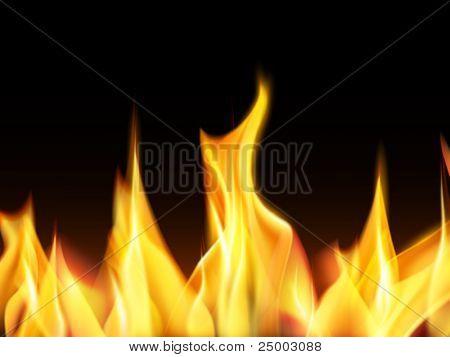 vector flames