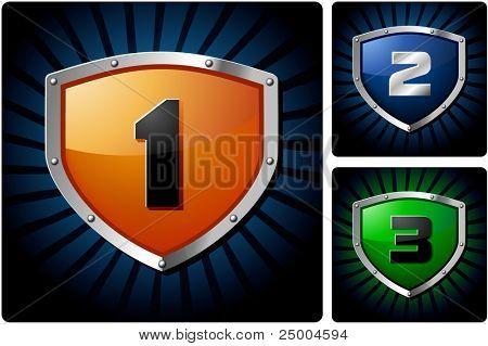 Shields for design