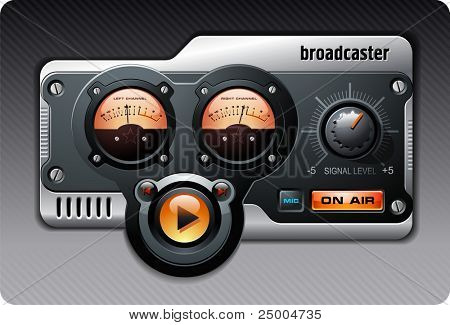 Analog Radio (orange)