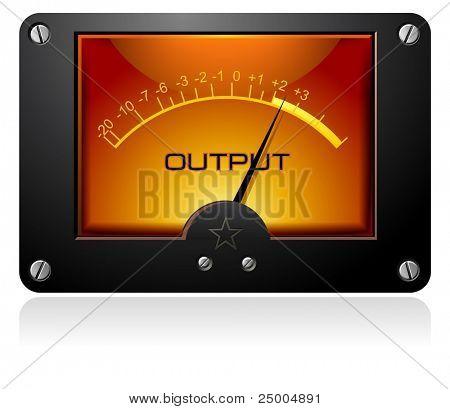 Medidor de sinal analógico
