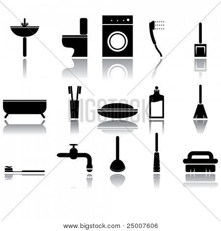 Icons set. Vector.