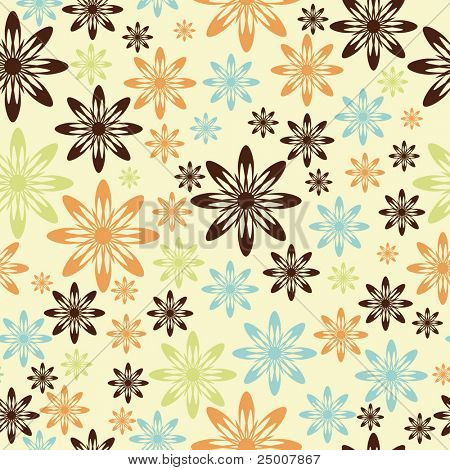 Seamless pattern. Vector.