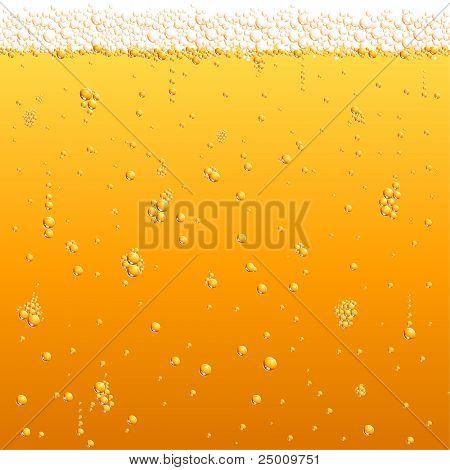 Bier-Textur. Vektor.