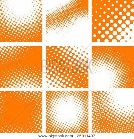 Doted vector background. Vector.