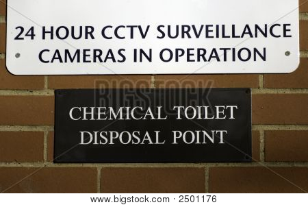 Chemical Toilet Disposal Point
