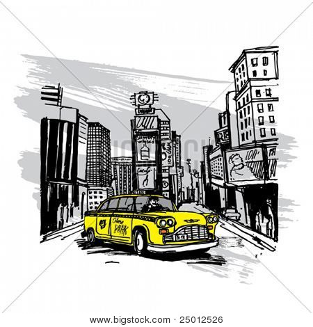 Yellow Cab en Nueva York