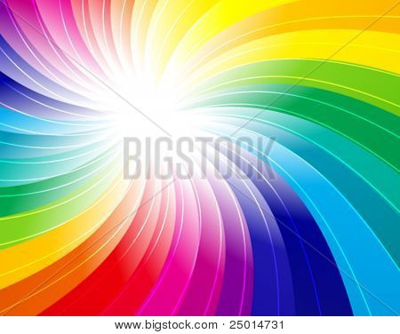 rainbow concept background