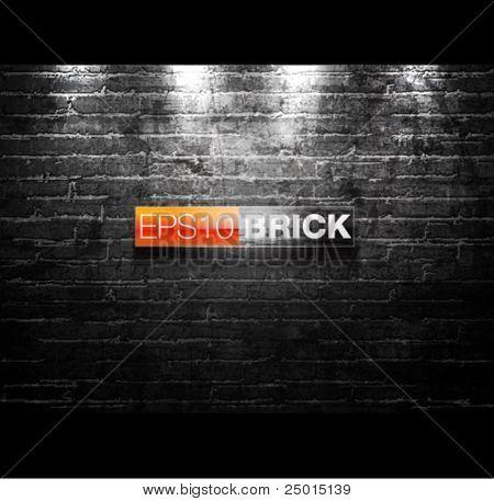 Ziegel-Mauer-Abbildung