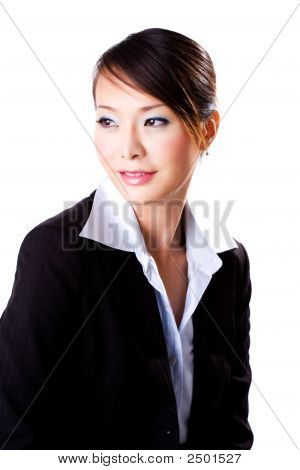Business Woman With A Beautiful Smile