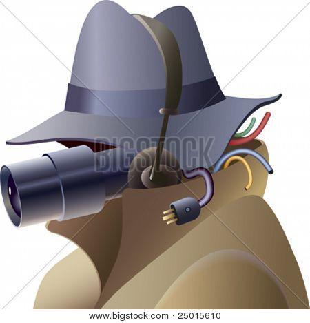 A portrait of a tech-spy.