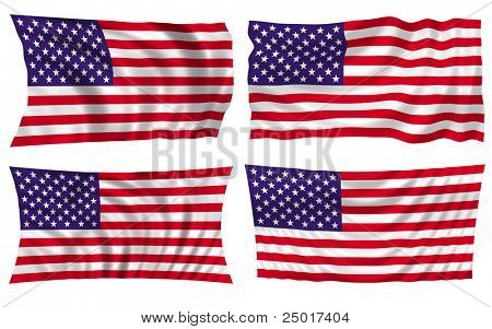 american flag - more styles