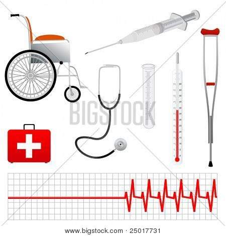 Vector Medical Tools  Eps 8