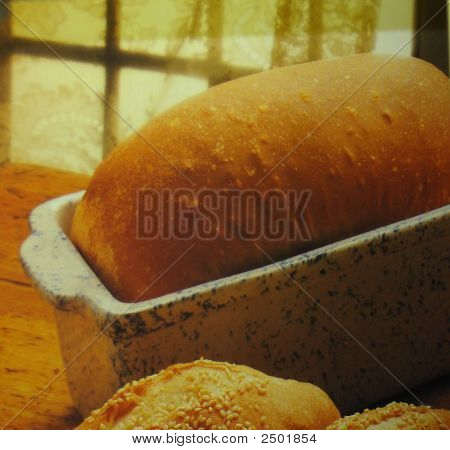Fresh Baked Loaf Of Bread